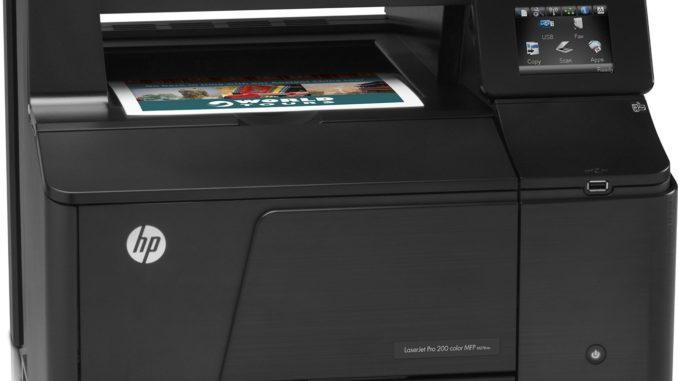 HP Laserjet Drucker Bild