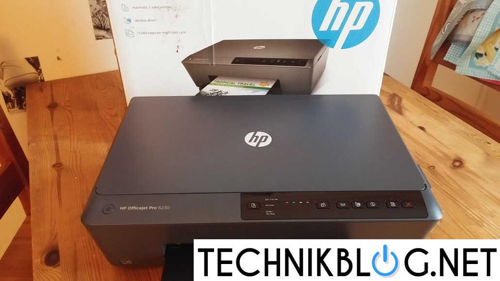 HP ficejet pro 6230 Test by technikblog