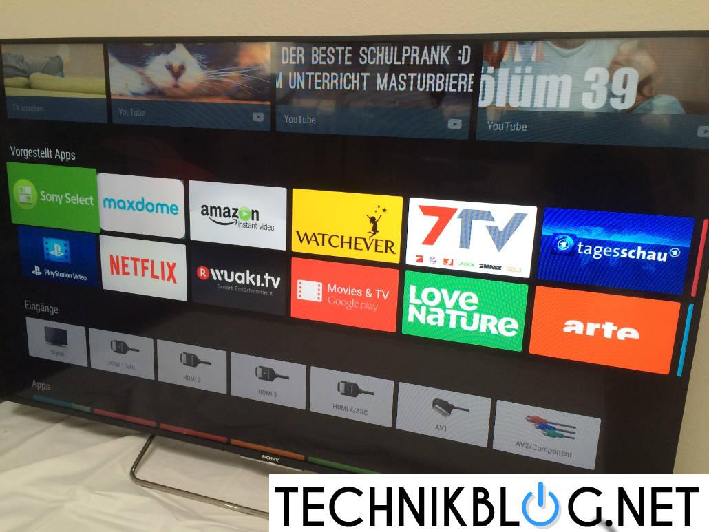 sony kdl 65w855c test sony 3d smart tv im test. Black Bedroom Furniture Sets. Home Design Ideas