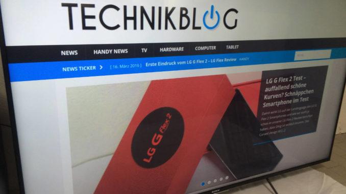 Fernseher Test by technikblog.net