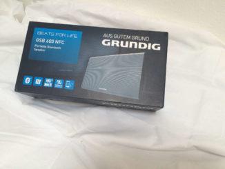 Grundig GSB 600 NFC Bluetooth Lautsprecher