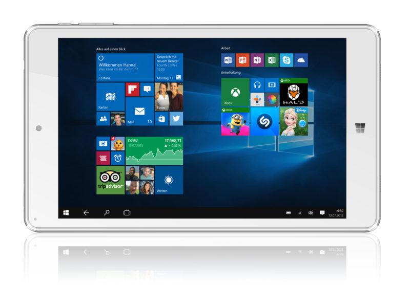 Bluechip TRAVELline Tablet T8 E3 technikblog