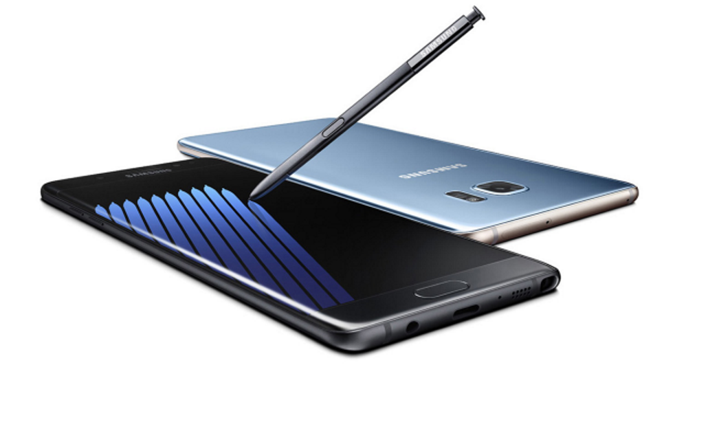Sasmung Galaxy Note 7 mit Stift