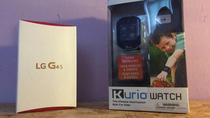 Kurio Smartwatch und LG G4S by technikblog.net