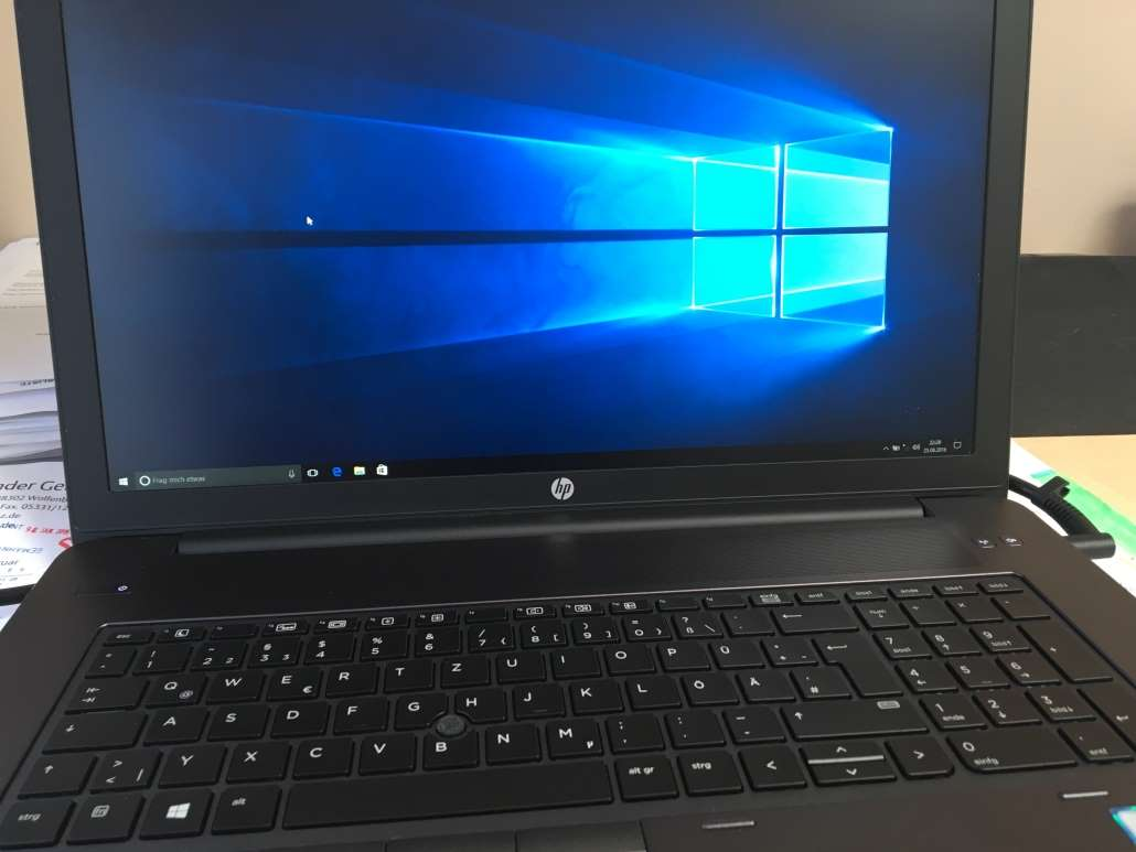 HP ZBook 17 G3 T7V64ET im Test by technikblog