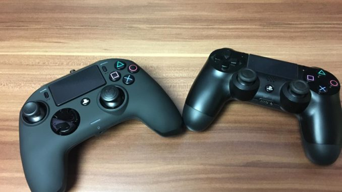Nacon PS4 Controller Vergleich zum Originalen PS4 Controller