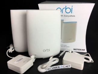 Netgear Orbi RBK50 Test Bild