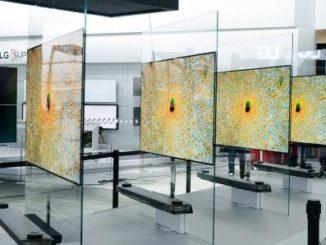 LG Signature OLED TV Bild