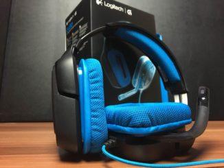 Logitech G430 Test Bild