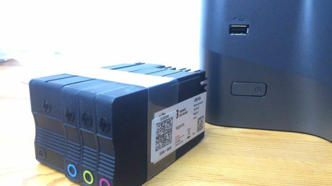 HP Officejet PRO 8725 Test Patronen