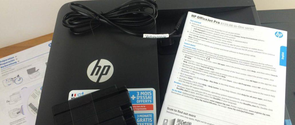 HP Officejet PRO 8725 Test