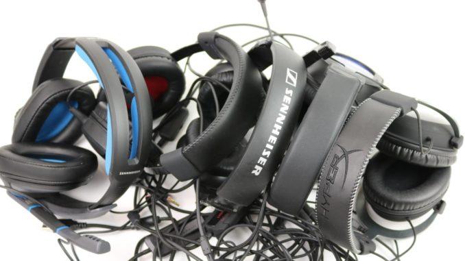 Gaming Headset Test Bild