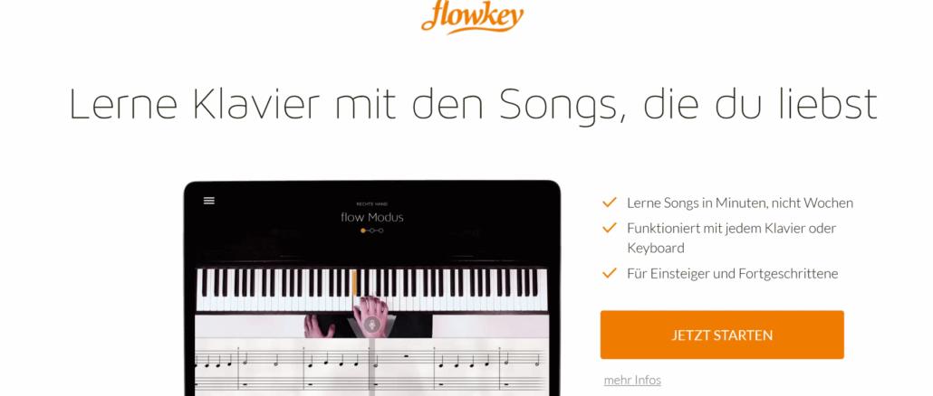 flowkey Klavierlern App - Klavier spielen lernen