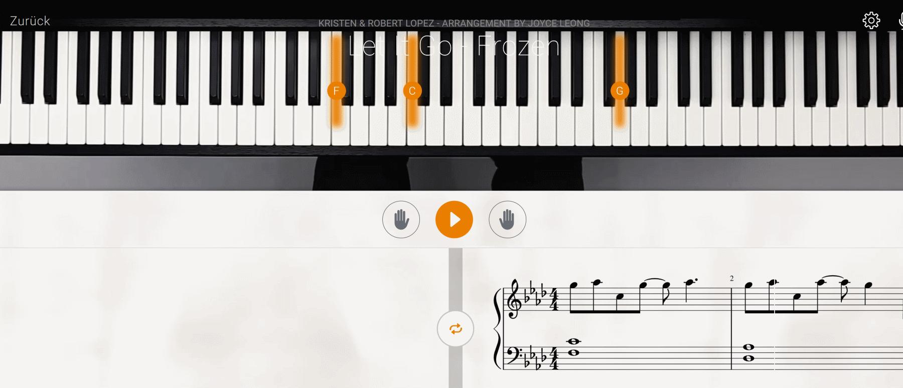 mit flowkey klavier spielen lernen flowkey test by. Black Bedroom Furniture Sets. Home Design Ideas