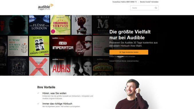 Audible App: Hörbücher zu Hause und unterwegs hören