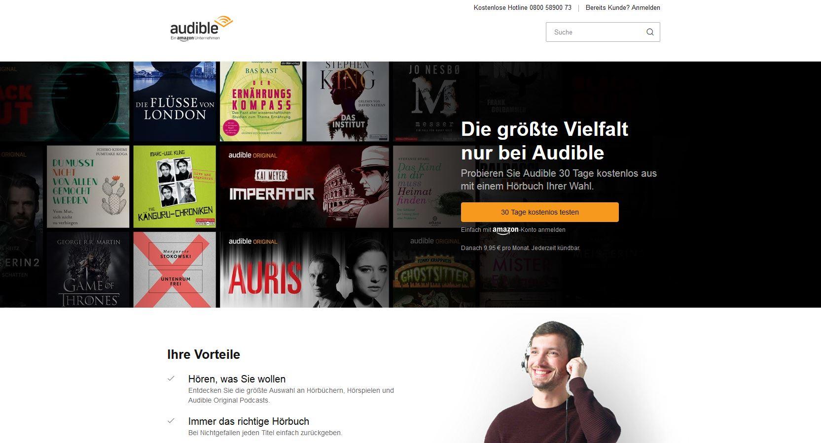 Audible App Horbucher Zu Hause Und Unterwegs Horen Technikblog Net