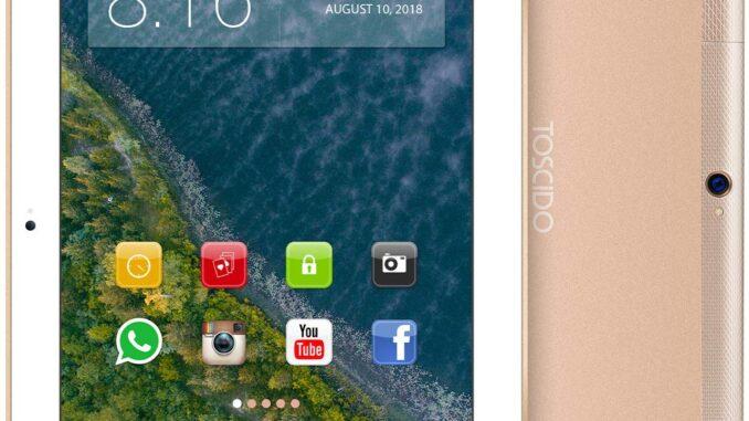 TOSCIDO 4G LTE Tablet 10 Zoll